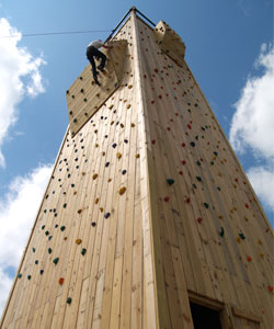 Climbing Tower at Tomahawk