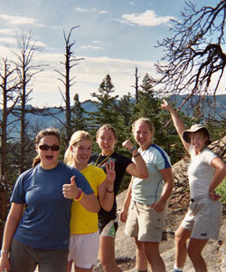 Female Crew at Philmont